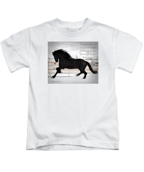 Understand The Soul Of A Horse Kids T-Shirt