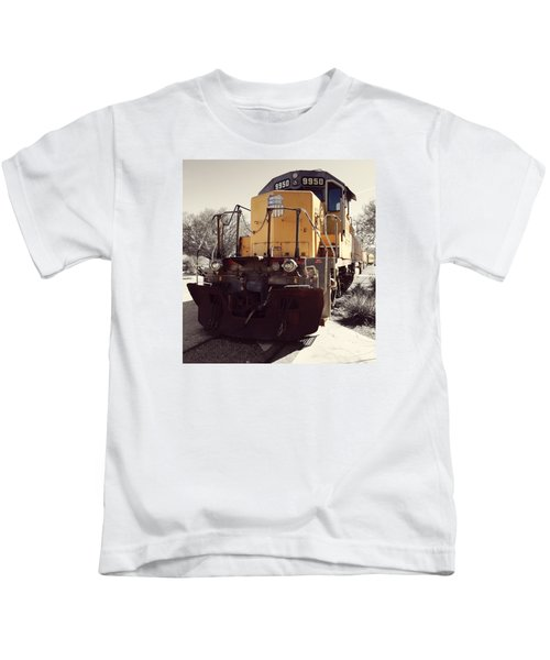 Union Pacific No. 9950 Kids T-Shirt