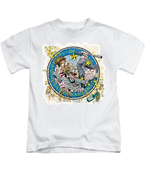 University Of California At Santa Barbara Seal Kids T-Shirt