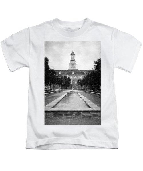 University Of North Texas Bw Kids T-Shirt