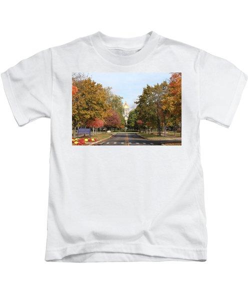 University Of Notre Dame Kids T-Shirt