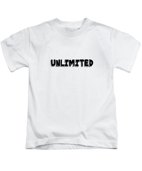 Unlimted Kids T-Shirt