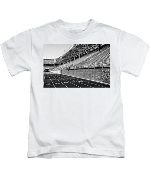 Upenn - Franklin Field In Black And White Kids T-Shirt