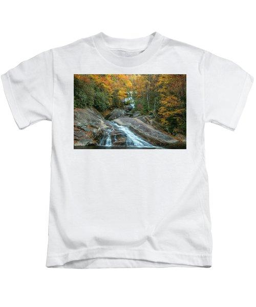 Upper Creek Autumn Paradise Kids T-Shirt