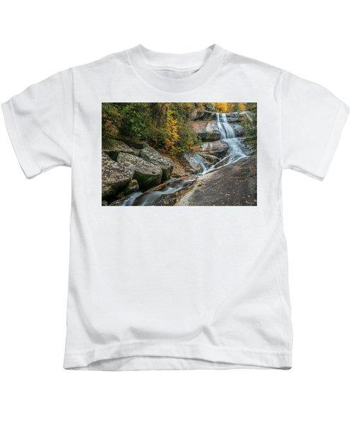 Upper Creek Falls Kids T-Shirt