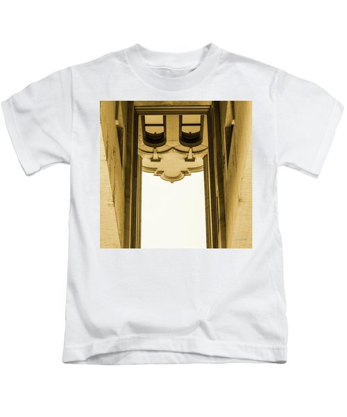 Urban Portals - Architectural Abstracts Kids T-Shirt