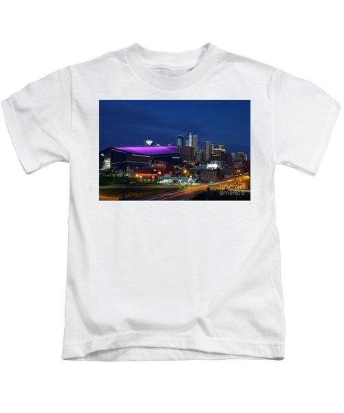 Us Bank Stadium Kids T-Shirt