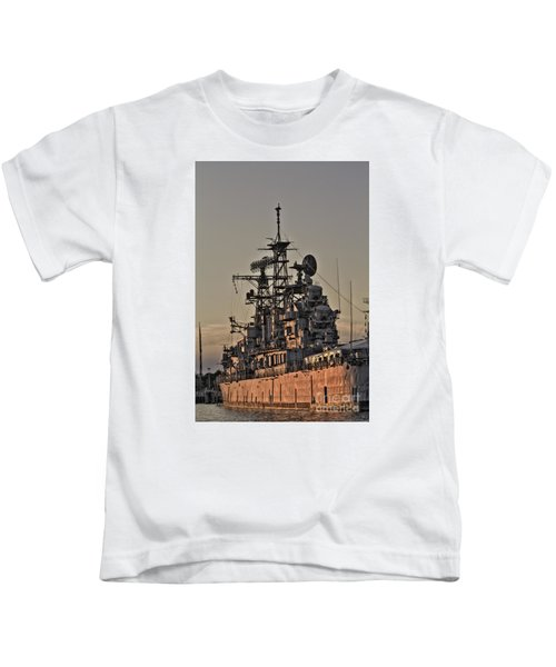 U.s.s Little Rock Kids T-Shirt