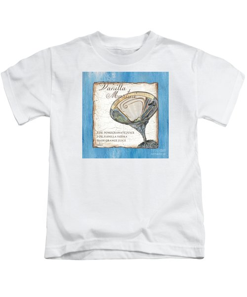 Vanilla Martini Kids T-Shirt