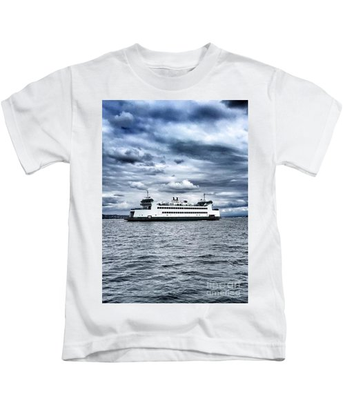 Vashon Island Ferry Kids T-Shirt