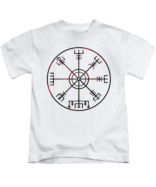 Vegvisir Icelandic Stave Kids T-Shirt