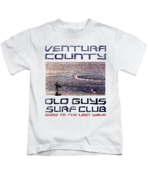Ventura County Old Guys Surf Club Kids T-Shirt