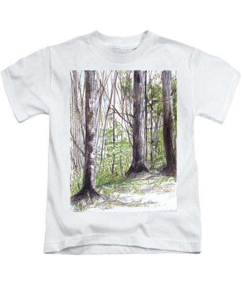 Vermont Woods Kids T-Shirt