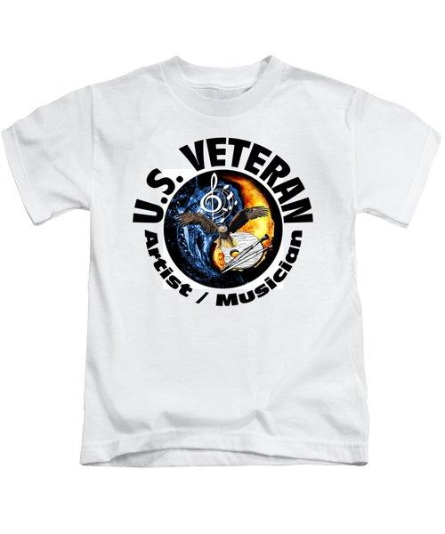 Veteran Artist And Musician Kids T-Shirt