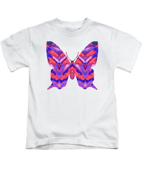 Vibrant Butterfly  Kids T-Shirt