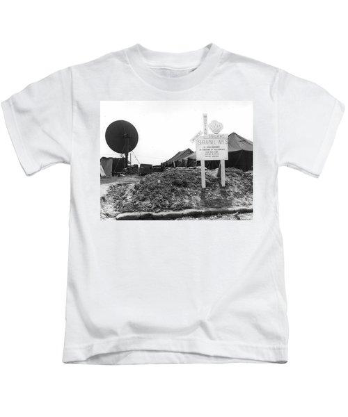 Vietnam Mortar Square Housing Kids T-Shirt