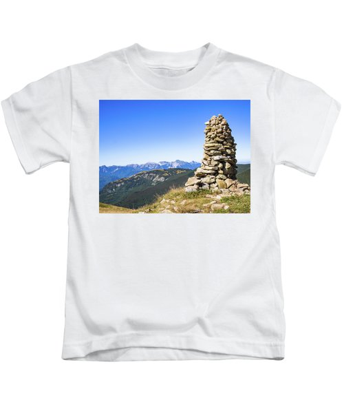 View Of The Apuan Alps Kids T-Shirt