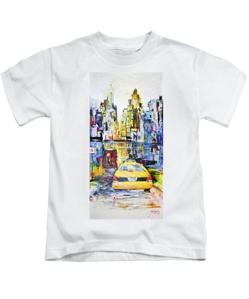 View To Manhattan Kids T-Shirt