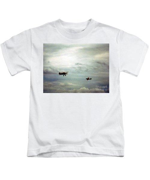 Vintage Airplanes Kids T-Shirt