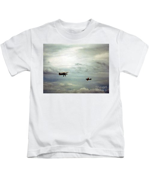Vintage Airplanes Kids T-Shirt