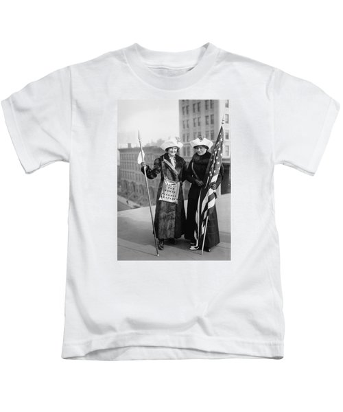 Vintage Photo Suffragettes Kids T-Shirt