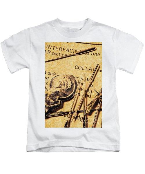 Vintage Quick Stitch Kids T-Shirt