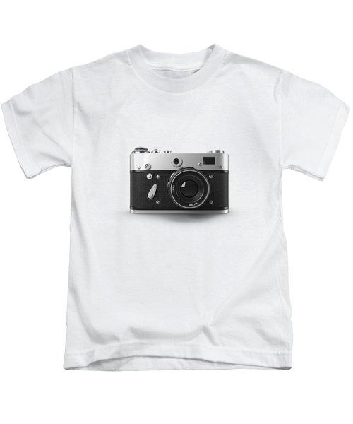 Vintage Rangefinder Camera Tee Kids T-Shirt