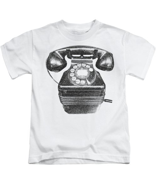 Vintage Telephone Tee Kids T-Shirt