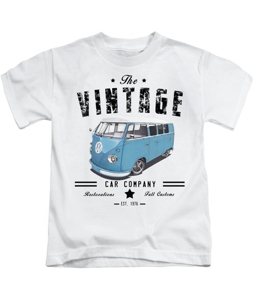 Vintage Transportation Kids T-Shirt