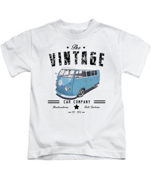 Vintage Transportation Kids T-Shirt