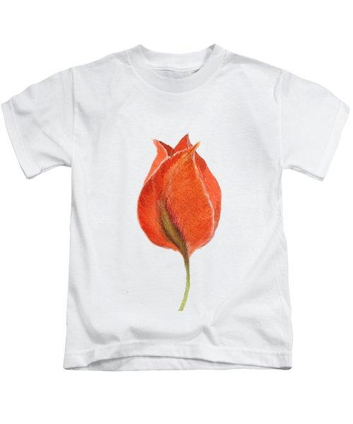Vintage Tulip Watercolor Phone Case Kids T-Shirt