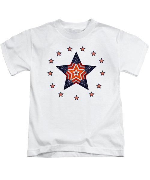 Vintage Us Fag Star Kids T-Shirt