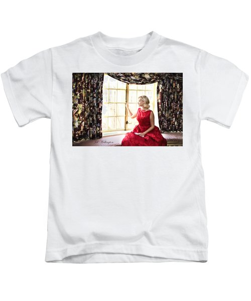 Vintage Val Home For The Holidays Kids T-Shirt