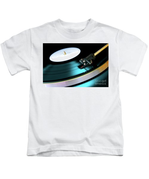 Vinyl Record Kids T-Shirt
