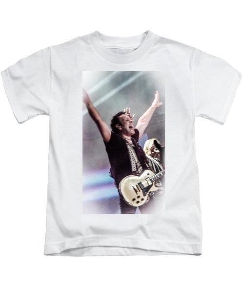 Vivian Campbell - Campbell Tough Kids T-Shirt by Luisa Gatti