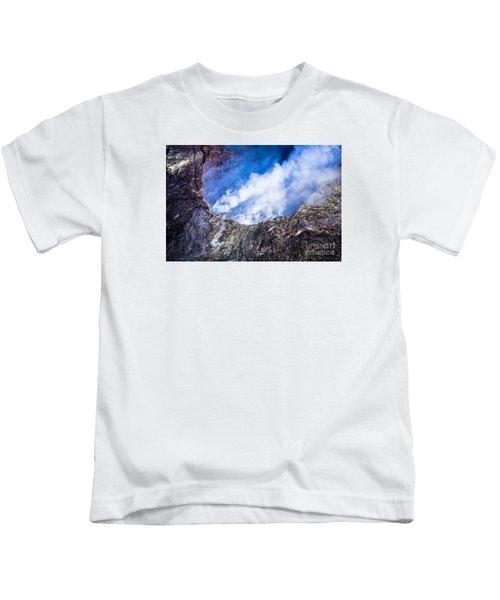 Kilauea Volcano Kids T-Shirt