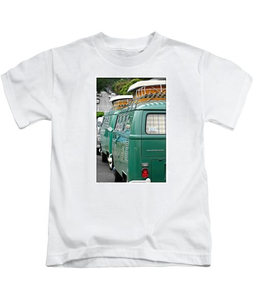 Vw Buses #carphotographer #vw #vwbus Kids T-Shirt