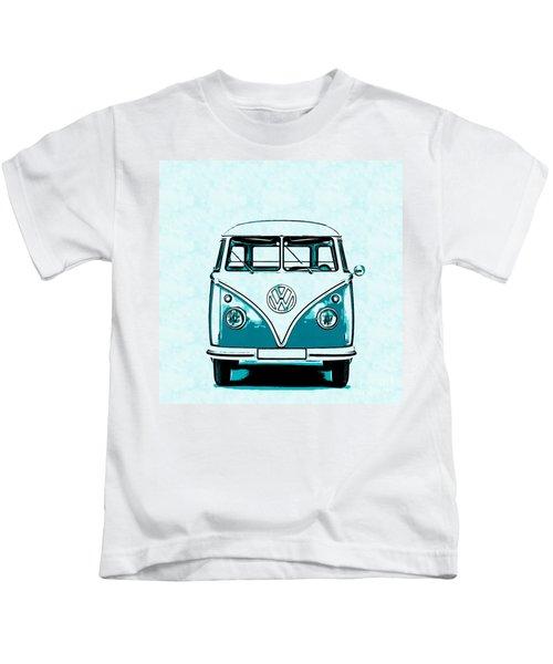 Vw Van Graphic Artwork Kids T-Shirt
