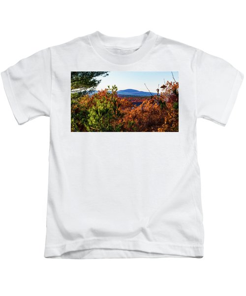 Wachusett In Fall Kids T-Shirt