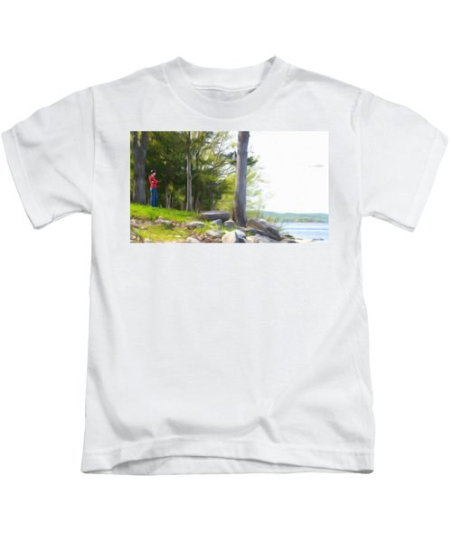 Waiting Ashore Kids T-Shirt