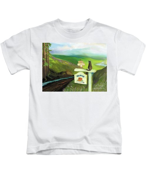 Waiting For Andy Kids T-Shirt
