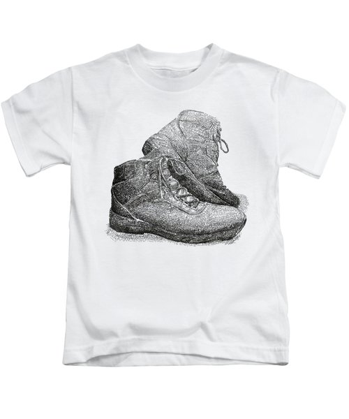 Walk A Mile In My Shoes-john Casanover Ms Project Kids T-Shirt