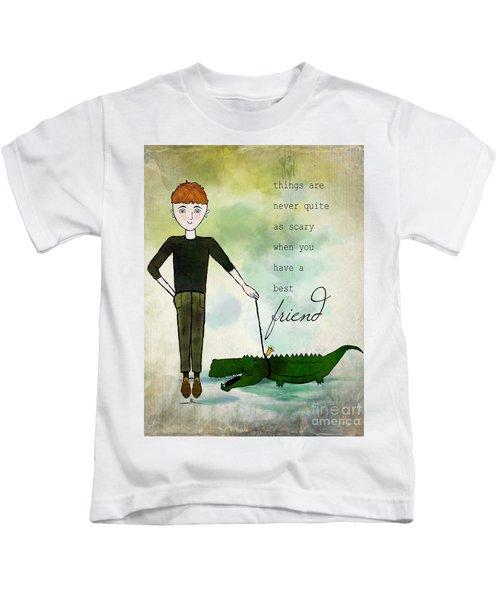 Walking Reginald From Ginkelmier Land Kids T-Shirt