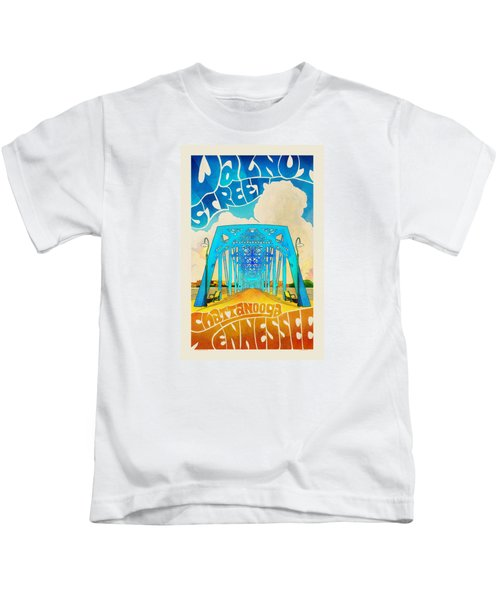 Walnut Street Poster Kids T-Shirt