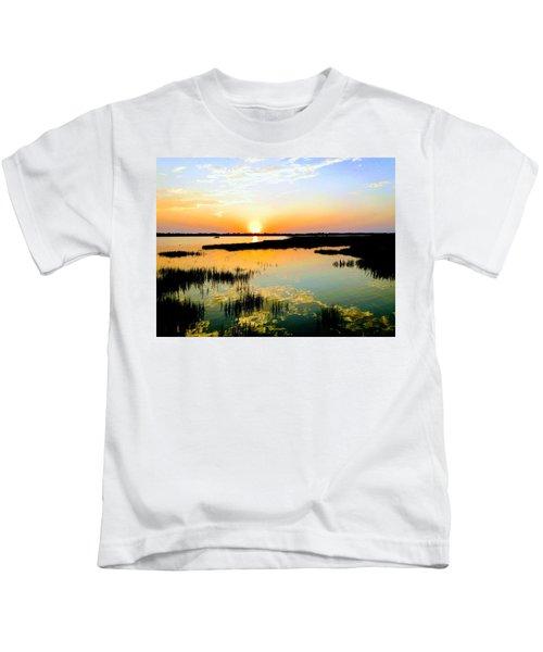 Warm Wet Wild Kids T-Shirt