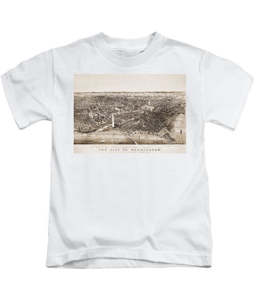 Washington D.c., 1892 Kids T-Shirt