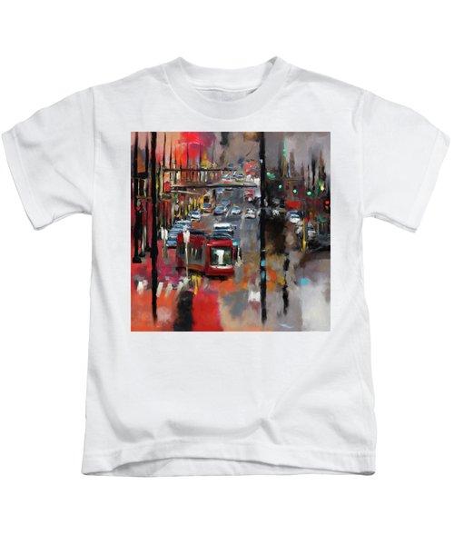 Washington I 471 1 Kids T-Shirt by Mawra Tahreem