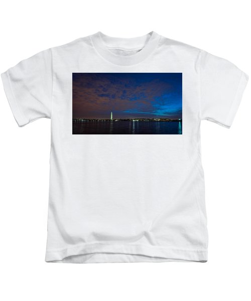 Washington Mounument Kids T-Shirt