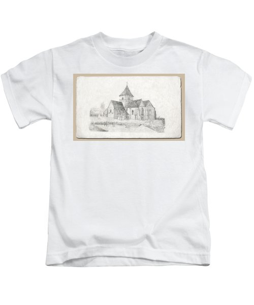 Water Inlet At Church Kids T-Shirt