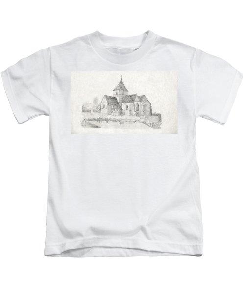 Water Inlet Near Church Kids T-Shirt